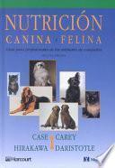 Nutrición Canina Y Felina