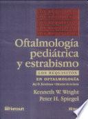 Oftalmología Pediátrica Y Estrabismo