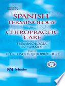libro Spanish Terminology For Chiropractic Care
