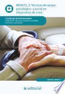 libro Técnicas De Apoyo Psicológico Y Social En Situaciones De Crisis. Sant0108