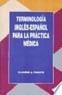 libro Terminología Inglés Español Para La Práctica Médica