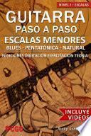 libro Escalas Menores   Guitarra Paso A Paso