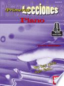 First Lessons Piano, Spanish Edition