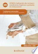Aplicación De Normas Y Condiciones Higiénico Sanitarias En Restauración. Hotr0109