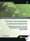 libro Conocer Los Productos Y Servicios Bancarios
