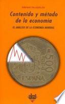 Contenido Y Método De La Economía