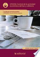 libro Control De La Actividad Económica En El Bar Y Cafetería. Hotr0508