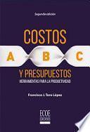 libro Costos Abc Y Presupuestos