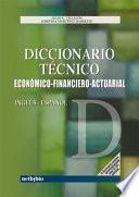 Diccionario Técnico Inglés Español Económico Financiero Actuarial