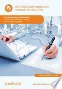 Documentación E Informes En Consumo. Comt0110