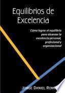 libro Equilibrios De Excelencia