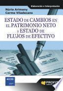libro Estado De Cambios En El Patrimonio Neto Y Estado De Flujos De Efectivo