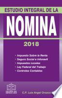 libro Estudio Integral De La NÓmina 2018