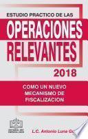 Estudio Practico De Las Operaciones Relevantes 2018