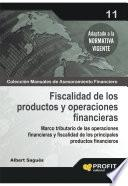Fiscalidad De Los Productos Y Operaciones Financieras