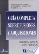 Guía Completa Sobre Fusiones Y Adquisiciones