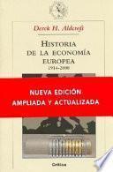 Historia De La Economía Europea 1914 2000