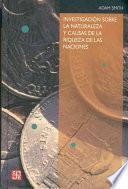libro Investigación Sobre La Naturaleza Y Causas De La Riqueza De Las Naciones