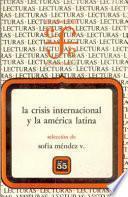 libro La Crisis Internacional Y La América Latina