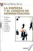La Empresa Y El Consejo De Administración