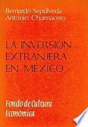 libro La Inversión Extranjera En México