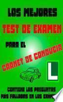 libro Los Mejores Test De Examen Del Carnet De Conducir