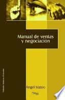 Manual De Ventas Y Negociación