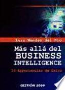 Más Allá Del Business Intelligence