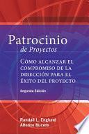 Patrocinio De Proyectos (project Sponsorship   Second Edition)