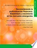 libro Reconsiderando La Profundización Financiera
