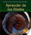 libro Aprender De Los Fósiles