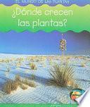 Dónde Crecen Las Plantas?
