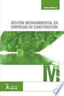 Gestión Medioambiental En Empresas De Construcción