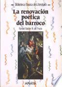 La Renovación Poética Del Barroco