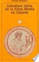 Literatura Latina De La Edad Media En España