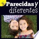 libro Mi Mundo (my World) Parecidas Y Diferentes, Grades Pk - 2