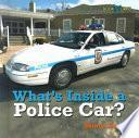 libro Qué Hay Dentro De Un Carro De Policía?