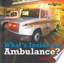 libro Qué Hay Dentro De Una Ambulancia?