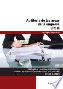 Uf0318   Auditoría De Las áreas De La Empresa