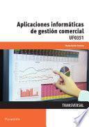 Uf0351   Aplicaciones Informáticas De Gestión Comercia