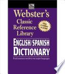 libro Webster S English/spanish Dictionary