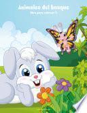 Animales Del Bosque Libro Para Colorear 2