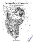 Animales étnicos Libro Para Colorear Para Adultos 2