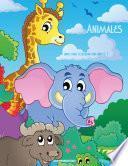Animales Libro Para Colorear Para Niños 1