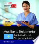 Auxiliar De Enfermería. Administración Del Principado De Asturias. Temario Vol. Ii.