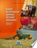libro Boletín De Información Oportuna Del Sector Alimentario No. 347