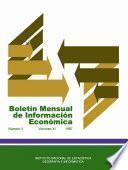 Boletín Mensual De Información Económica 1987. Marzo. Volumen Xi, Número 3