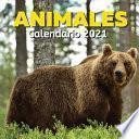 libro Calendario 2021 Animales