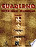 Carmen, Campeche. Cuaderno Estadístico Municipal 2001
