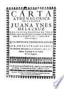 Carta Atenagórica De Sor Juana